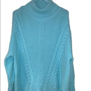 a.n.a. A New Approach Womens Turtleneck Sweater